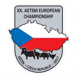 20th AETSM European Championship Silhouette Métallique Logo