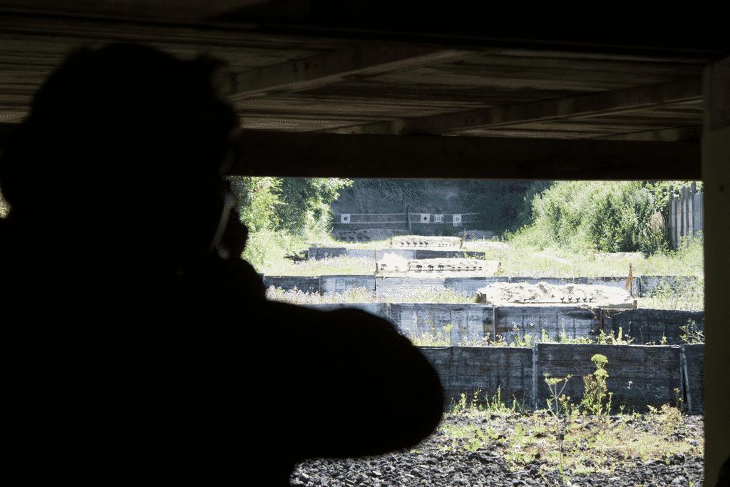 40s.be entrainement pistolet debout 22LR à Nesles