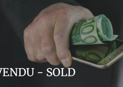Vendu - Sold